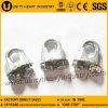 Plaquer les clips plongés de câble métallique de fonte malléable DIN 741 Galv