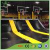 Parc d'intérieur de trempoline de sports mis à jour avec Basketabll