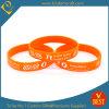 Bracelet en gros fait sur commande de silicone, bracelet volontaire (LN-07)