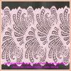 Cordón elástico de nylon hecho punto telar jacquar del cordón de los accesorios de la ropa