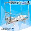 Quente! ! ! Aço inoxidável da cama ortopédica dobro da tração da coluna G04-1