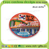 Regali turistici di promozione del ricordo con 3D i magneti di gomma molli Corea (RC-KA) del frigorifero