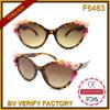 A flor do estilo das mulheres da forma F6483 decorou frames Sunlgasses