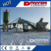 25m3/H - 75m3/H Portable Concrete Batching Plant met Truck Chassis