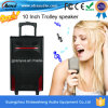 Battery ricaricabile Speaker con USB/SD Bluetooth Wireless Microphones