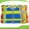 Gilet respirable de sécurité de maille de polyester de couleurs multi (JY-V742)