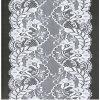 Водорастворимая Bridal Allover ткань шнурка с Sequins