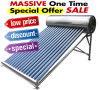 Elevado - baixa pressão/Unpressure/coletor solar Non-Pressurized de calefator de água do tanque de água quente do geyser do sistema de energia solar da tubulação de calor da câmara de ar de vácuo do aço inoxidável