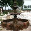 Fontaine de marbre Mf-1029 de Giallo Marrone de fontaine de granit de fontaine de pierre de fontaine
