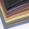 Couro artificial do PVC da boa qualidade para o sofá (B-801-1)