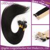 Estensione superiore dei capelli umani dell'anello del ciclo di Remy Mico della cuticola