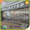 Desplazamiento de la puerta de plegamiento transparente del policarbonato plástico de Commercical de las puertas de plegamiento