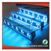 V diodo emissor de luz Wallwasher da forma 24*3W RGB/RGBW