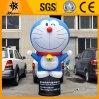 Caixa leve do diodo emissor de luz do gato inflável feito sob encomenda novo de Doraemon dos desenhos animados da forma (BMDX19)