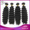 Волосы девственницы Remy оптовой дешевой бразильской глубокой волны Weft