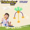 Stuk speelgoed van de Bouwsteen van het Stuk speelgoed van jonge geitjes het Onderwijs