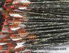 0.2443  nuevas flechas puras de la caza del tiro al arco de la fibra del carbón de Camo con las paletas de la chaqueta