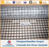 Vetroresina Geogrid Composite Geotextile Similar a Glasstexp50