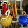 Glass multicolore Vase per Home Decoration
