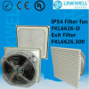 Power Distribution Control Box (FKL6626-D)를 위한 세륨 RoHS IP54 Certificate를 가진 중국 Hot Selling Dust Proof Air Cooling Fan Filter