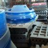 Trazador de líneas del tazón de fuente de los recambios de la trituradora del OEM, placa de la quijada para Metso