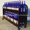 Ротатабельное Metal Wine Display Stand/Practical Metal Display с Caster