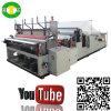 Auto máquina de alta velocidade do papel higiénico do rebobinamento para a venda