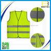 Gilet r3fléchissant de prix usine d'impression de sûreté faite sur commande promotionnelle en gros de logo