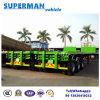 Tri remorque d'entraîneur de camion de conteneur de l'essieu 40FT/semi-remorque vers Moyen-Orient