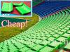 Asiento plástico moldeado respaldo bajo del estadio del polipropileno