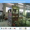 Bloco concreto automático do cimento que faz a maquinaria