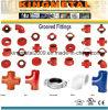 中国の延性がある鉄の鋳造の消火活動の溝ロックの管付属品