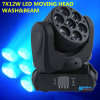 7 X 12W Osram LED Mini Wash Moving Head Light
