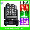 25X12W Matrix DEL Moving Head Lighting