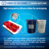 Adição Cure Liquid Silicone Rubber para Prototyping Products
