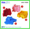4 PCS Karikatur-Spielzeug-Form-Plastikkuchen-Fondant-Scherblock