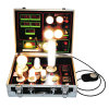 LuxのLED Light Bulb Display Demo Case Tester