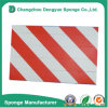 Красн-Белое водоустойчивое предупреждение гаража для анти- предупреждения гаража стороны крышки скреста