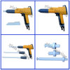 Sistema di prova manuale portatile elettrostatico automatico della pistola a spruzzo della macchina di rivestimento della polvere