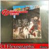 6 Machine van de Druk van de Papieren zakdoekjes van de kleur de Beschikbare Flexographic