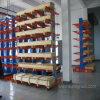Cremalheira Cantilever resistente do armazenamento do armazém do Dobro-Lado