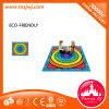 虹カラー教育おもちゃの子供のカーペット