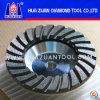 4-7 Zoll-abschleifende Aluminiumschleifscheibe für das Steinpolnisch