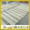 Adapter le marbre beige de Galala bordant pour la décoration de mur ou de plancher