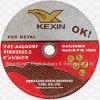Усиленные T41 истирательные диски вырезывания для металла