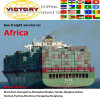 Contentor de FCL&LCL de China a África