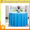 Tissu blanc Wedding de table ronde de banquet (JC-ZB01)