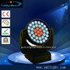 37PCS 10W 4in1 LEDのズームレンズ、ビーム、洗浄移動ヘッドライト
