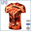 Zachte T-shirt van de Sublimatie van de douane Funky 3D
