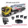 4CH vehículo DVR / 4CH vehículo DVR / 4CH HDD y SD móvil DVR / 4 canales DVR móvil móvil